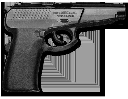 Пистолет Грач PNG фото