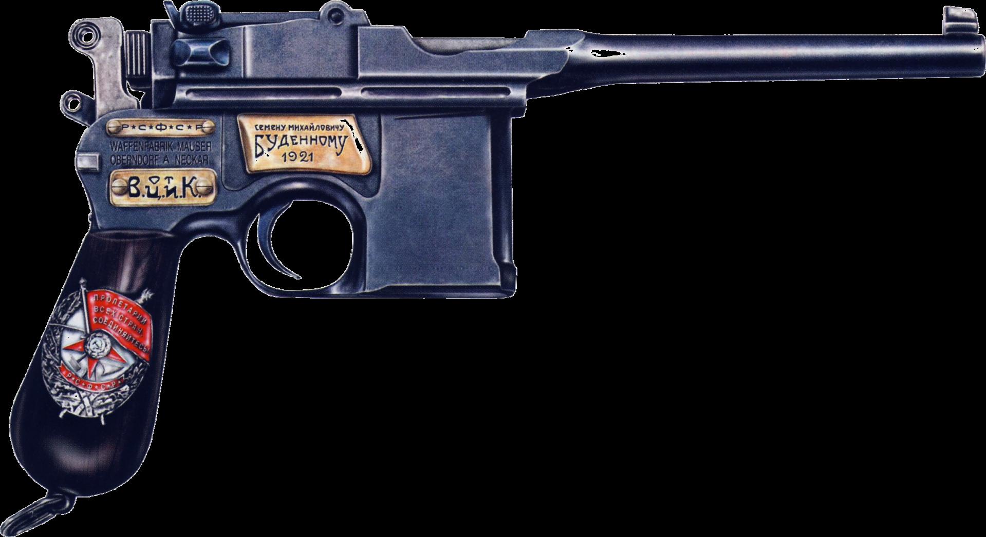 Пистолет Маузер PNG фото