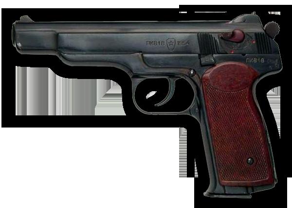Пистолет Стечкин PNG фото