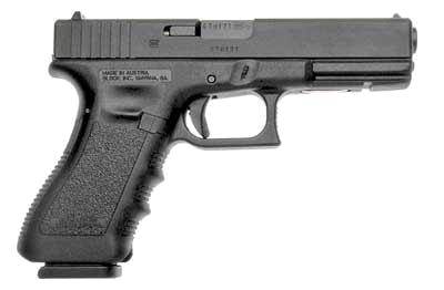 Glock handgun PNG image