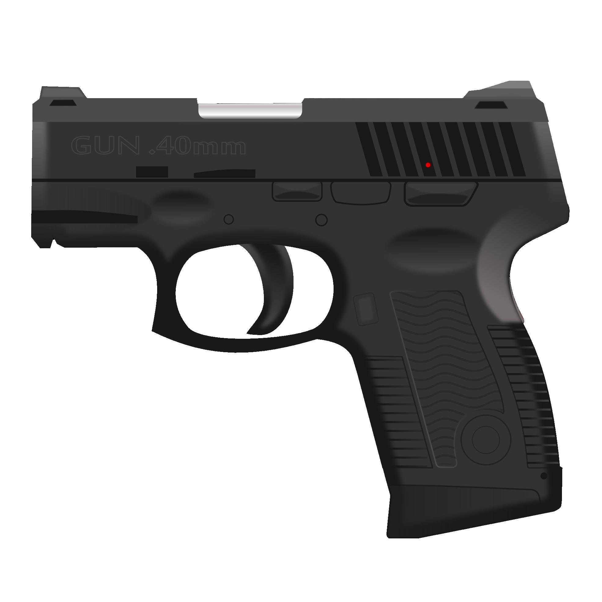 Пистолет PNG фото