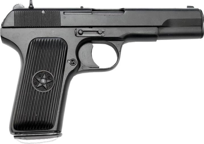 Пистолет ТТ PNG фото