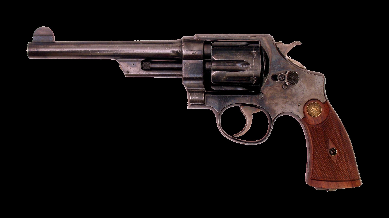 revolver Nagan, handgun PNG image