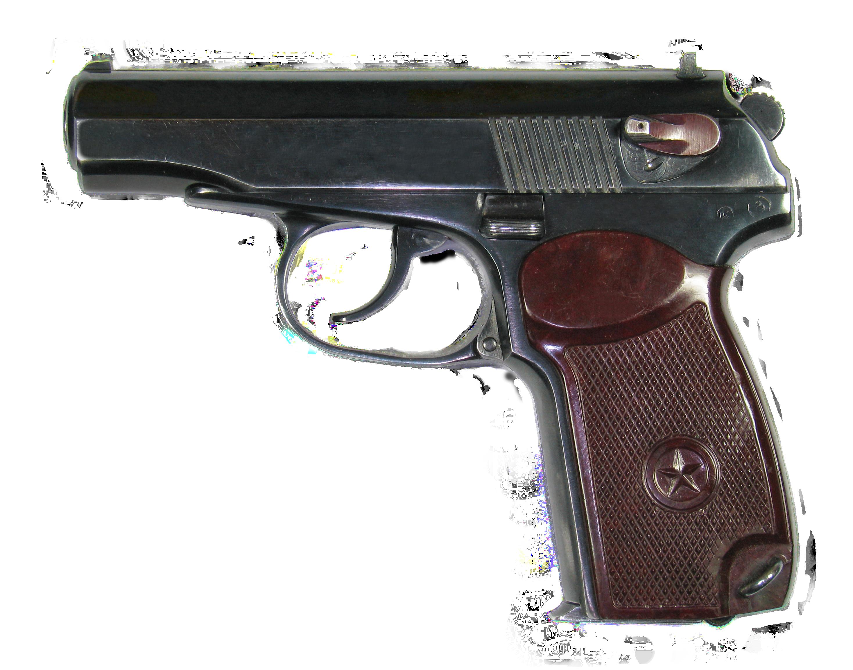 Пистолет Макаров PNG фото