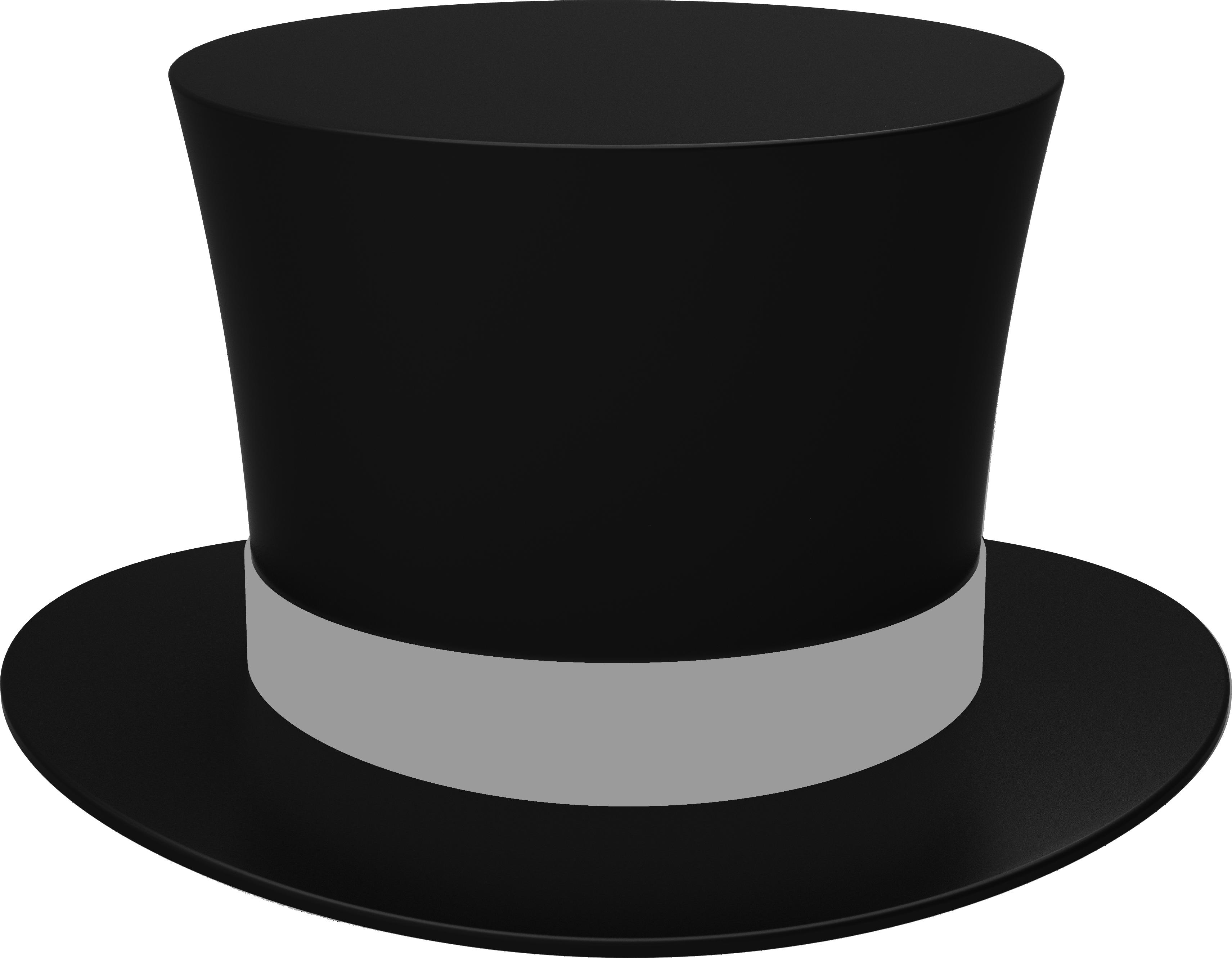 шляпа черный цилиндр PNG фото