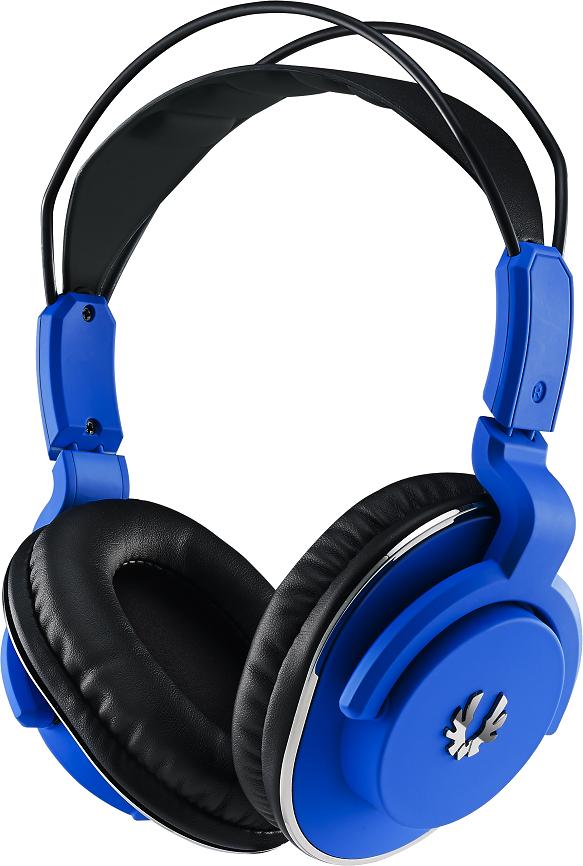 Blue headphones PNG image