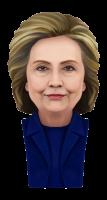 Хиллари Клинтон PNG