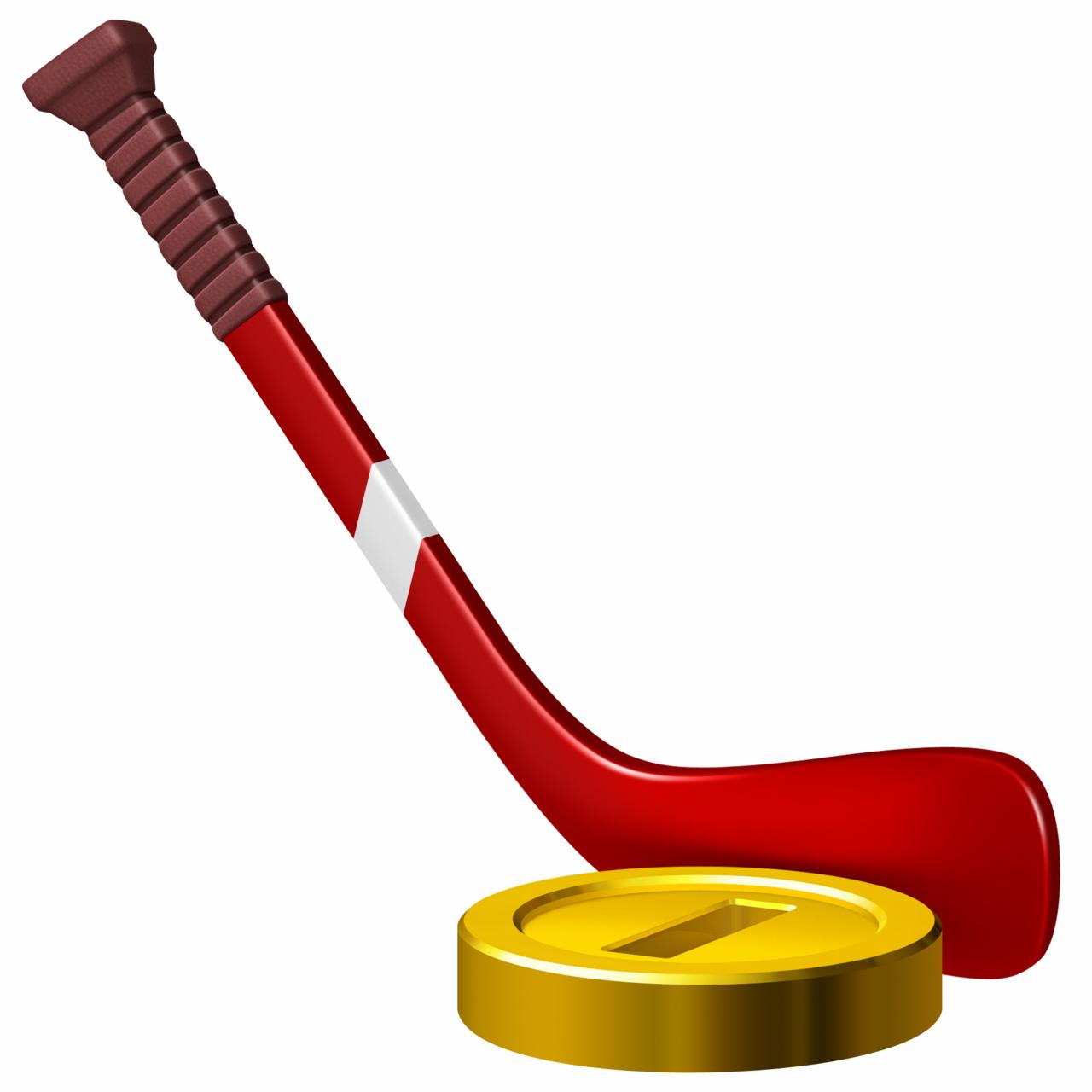 Хоккей клюшка PNG
