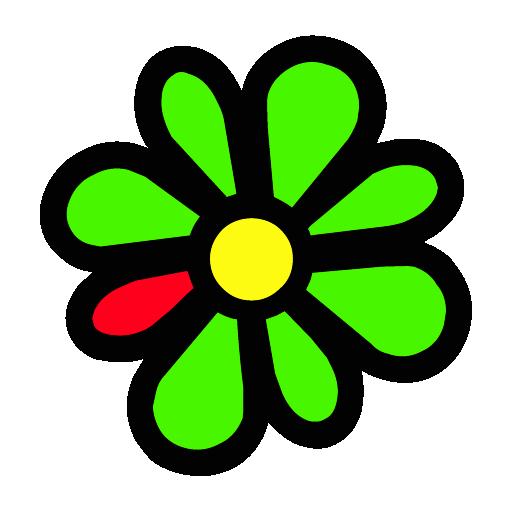 ICQ логотип PNG