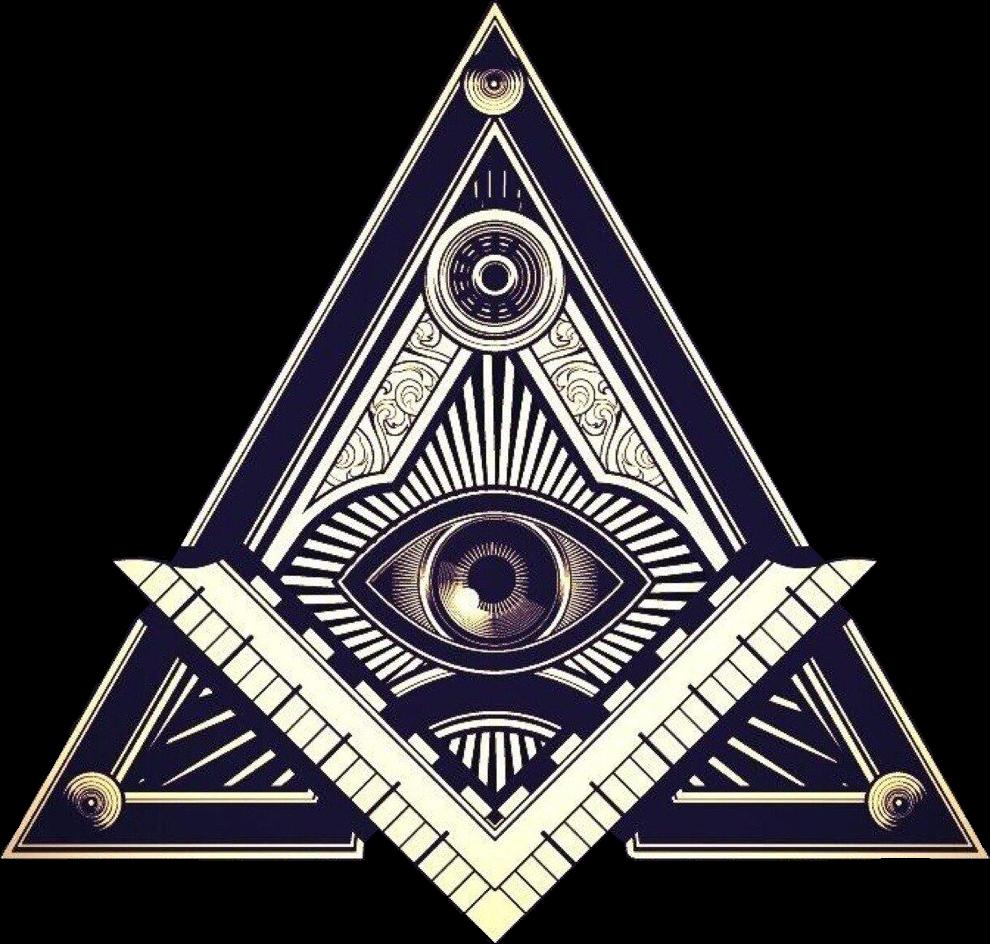 Иллюминаты символ PNG