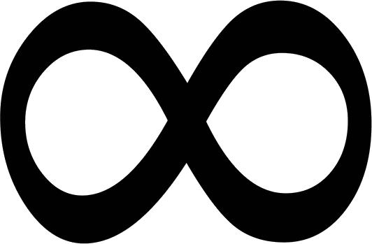 Символ бесконечности PNG