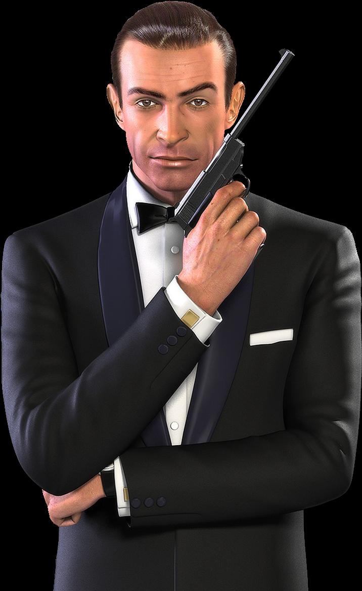 Джеймс Бонд PNG