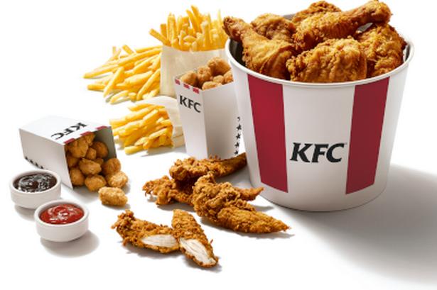 KFC еда PNG
