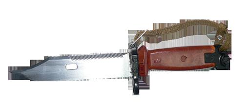 AK knife PNG image