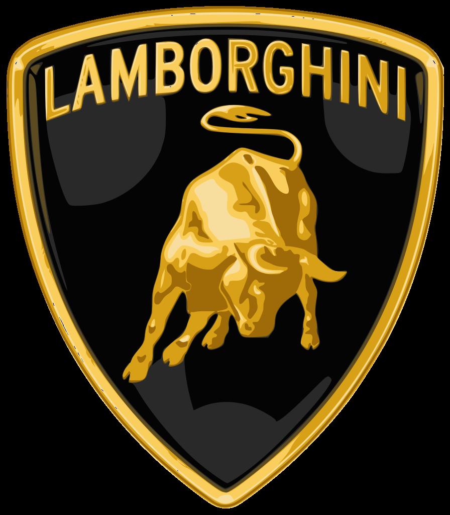 Lamborghini лого PNG изображение