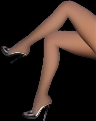 Ноги на каблуках PNG