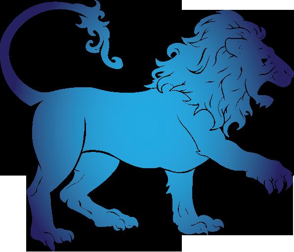 Лев знак зодиака PNG
