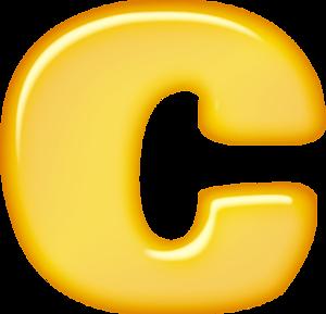 Буква C PNG