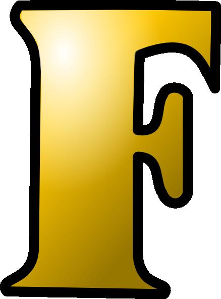 буква F PNG