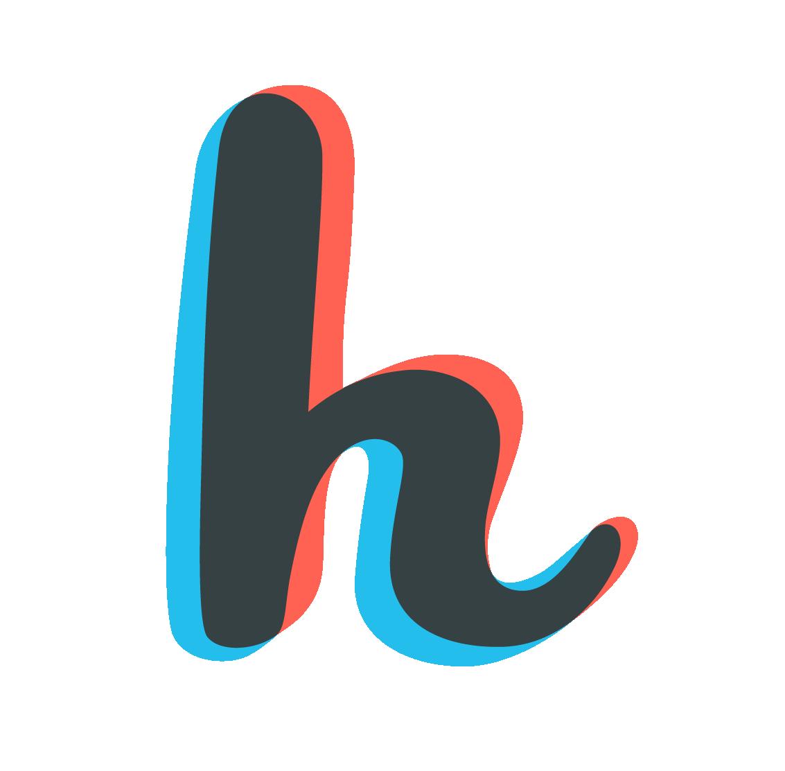 Буква H PNG