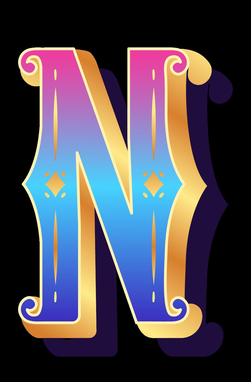 Буква N PNG