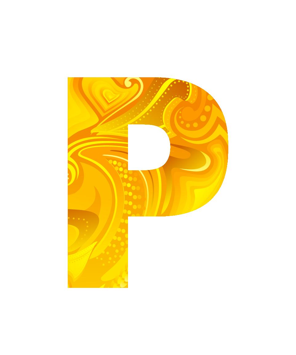 Буква P PNG