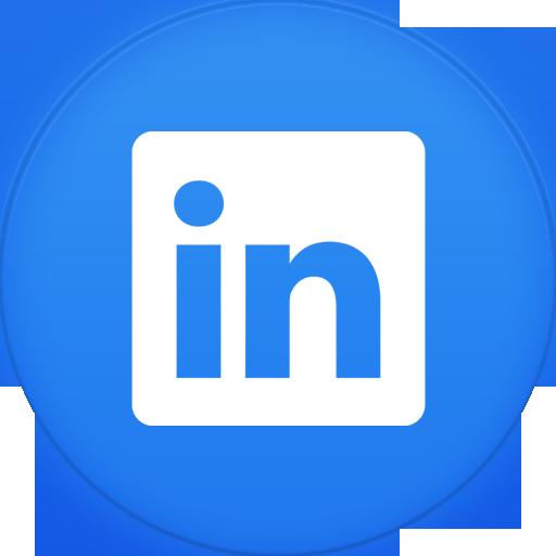 Linkedin Button Transparent Background