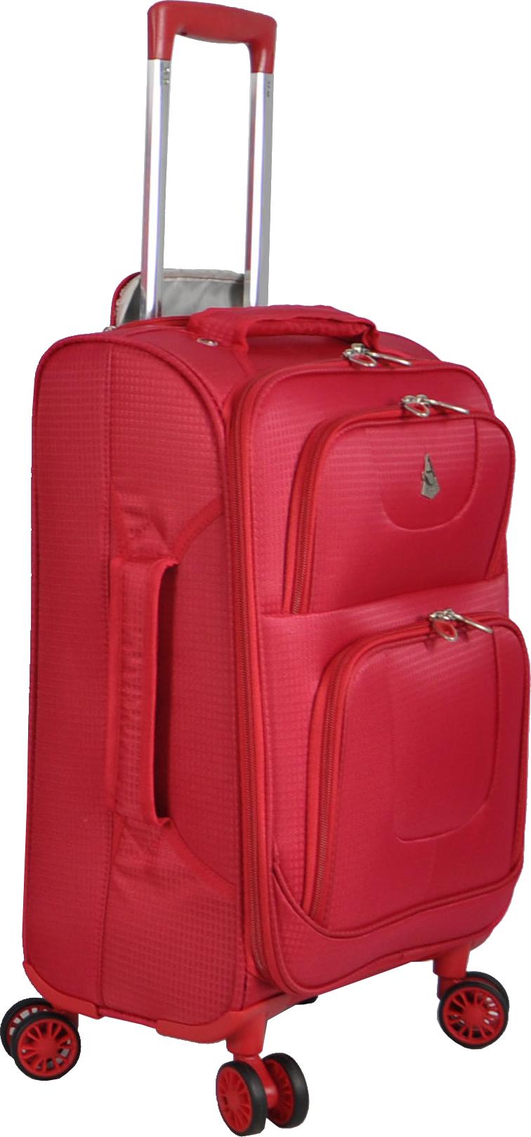 Pink luggage PNG image