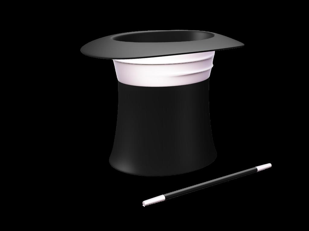 Шляпа фокусника PNG