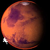 Марс планета PNG