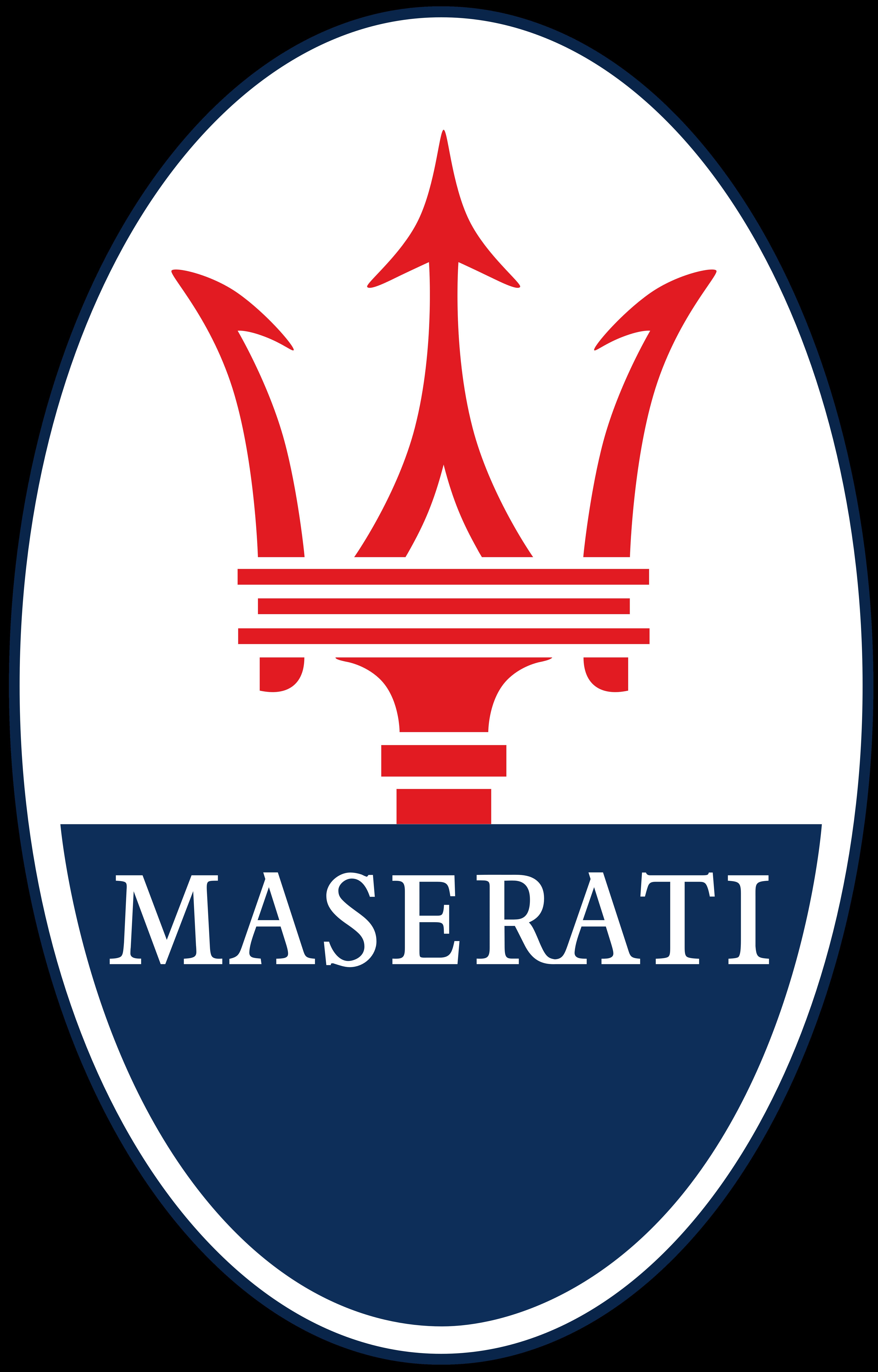 Maserati логотип PNG