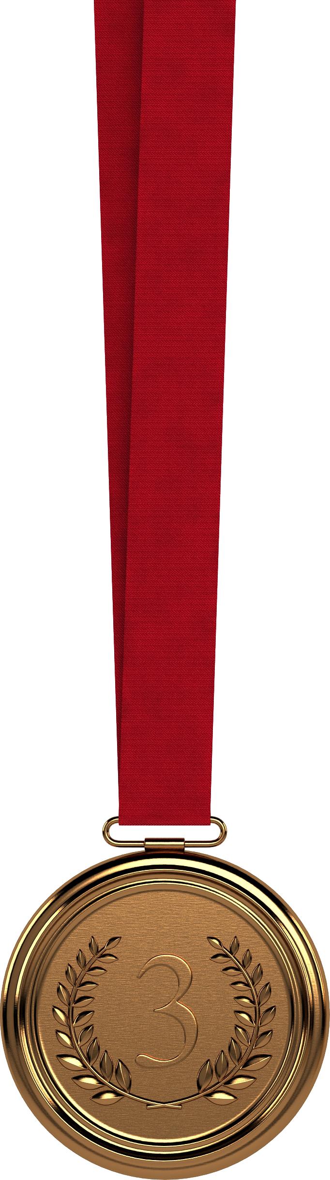 Бронзовая медаль PNG