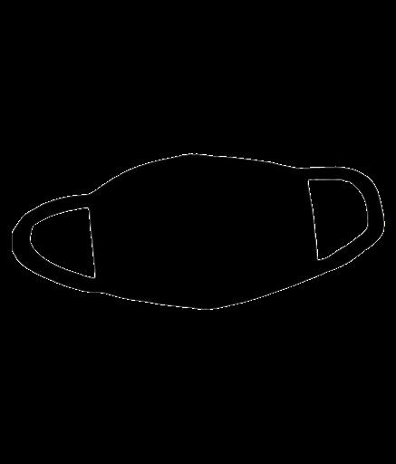 Медицинская маска PNG