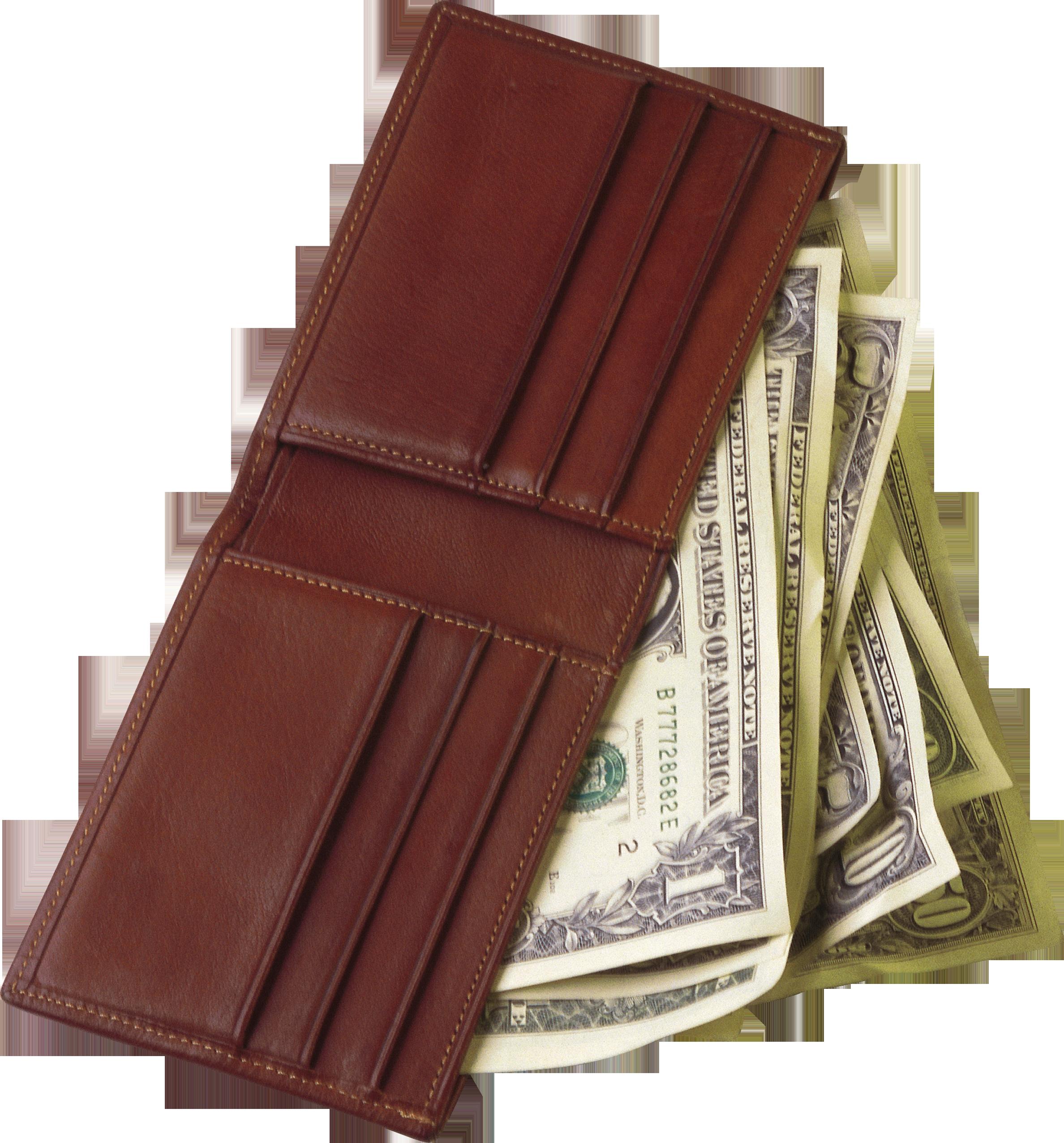 Деньги кошелек PNG фото