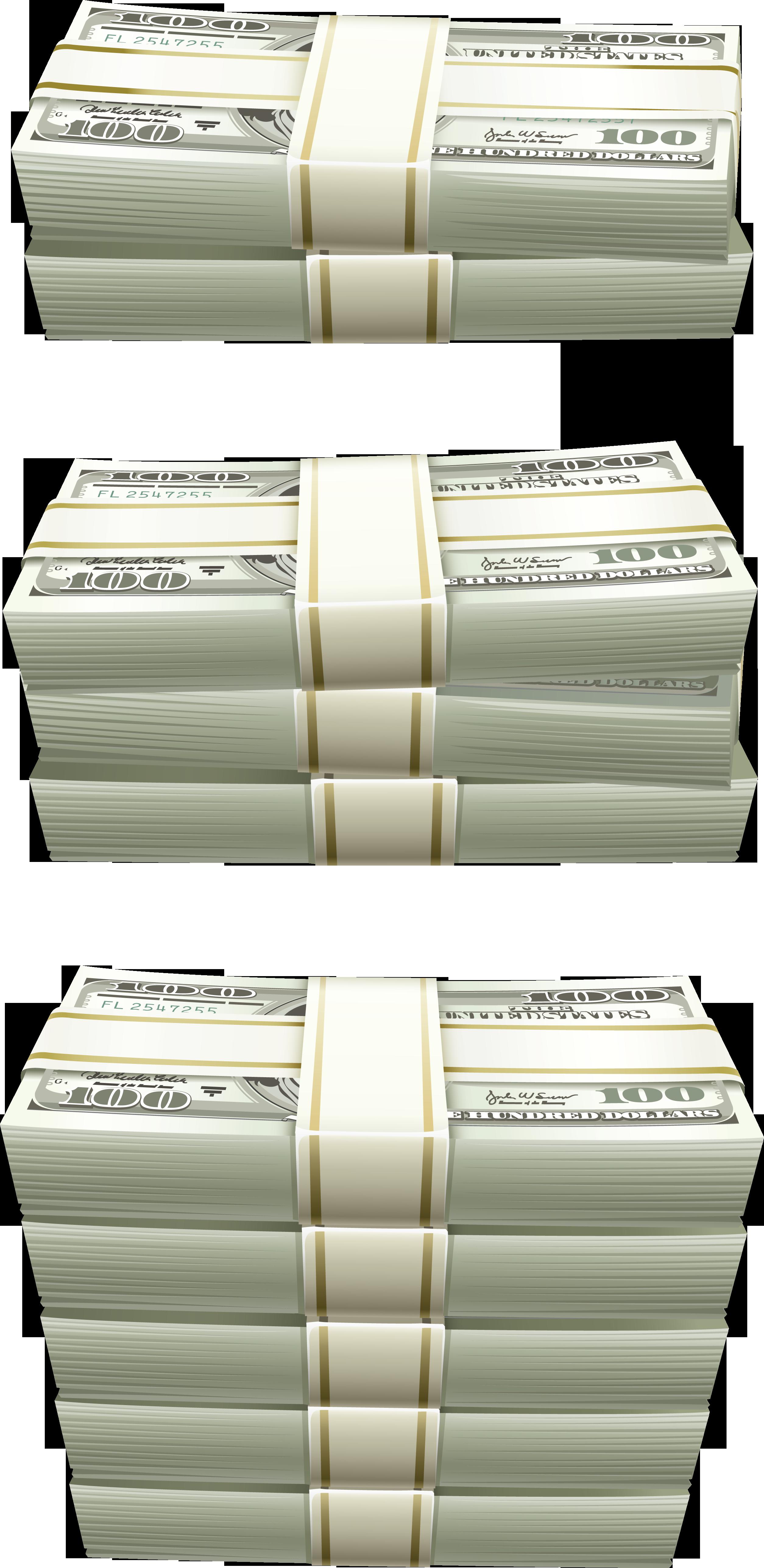 Деньги доллары PNG фото