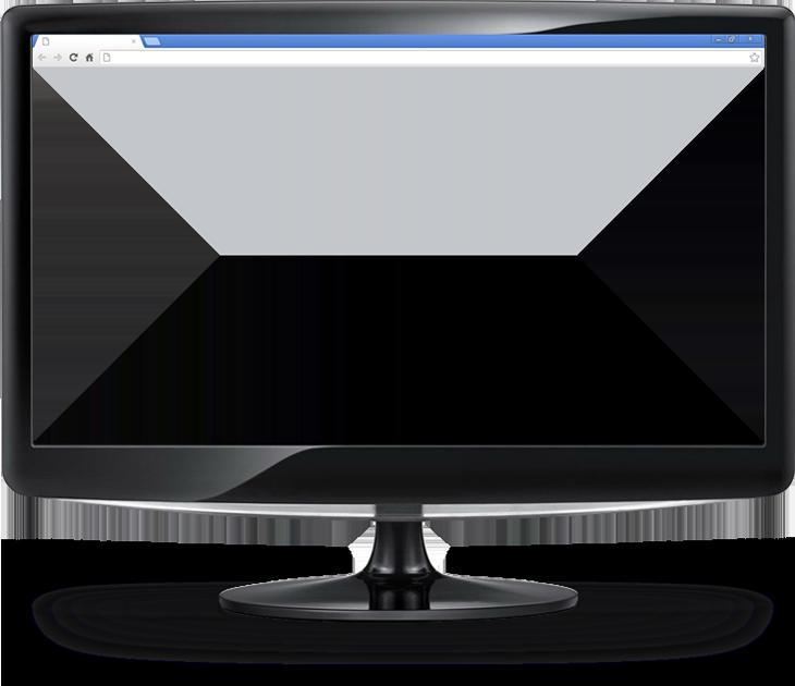 Монитор прозрачный экран PNG фото
