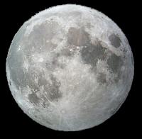 Луна PNG