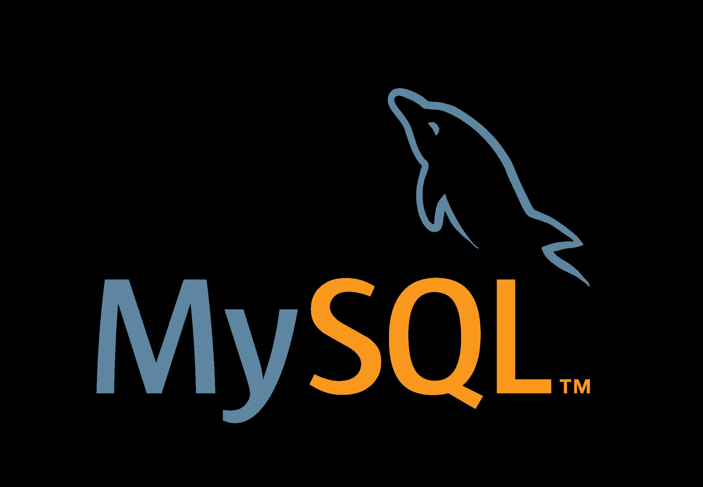 MySQL логотип PNG
