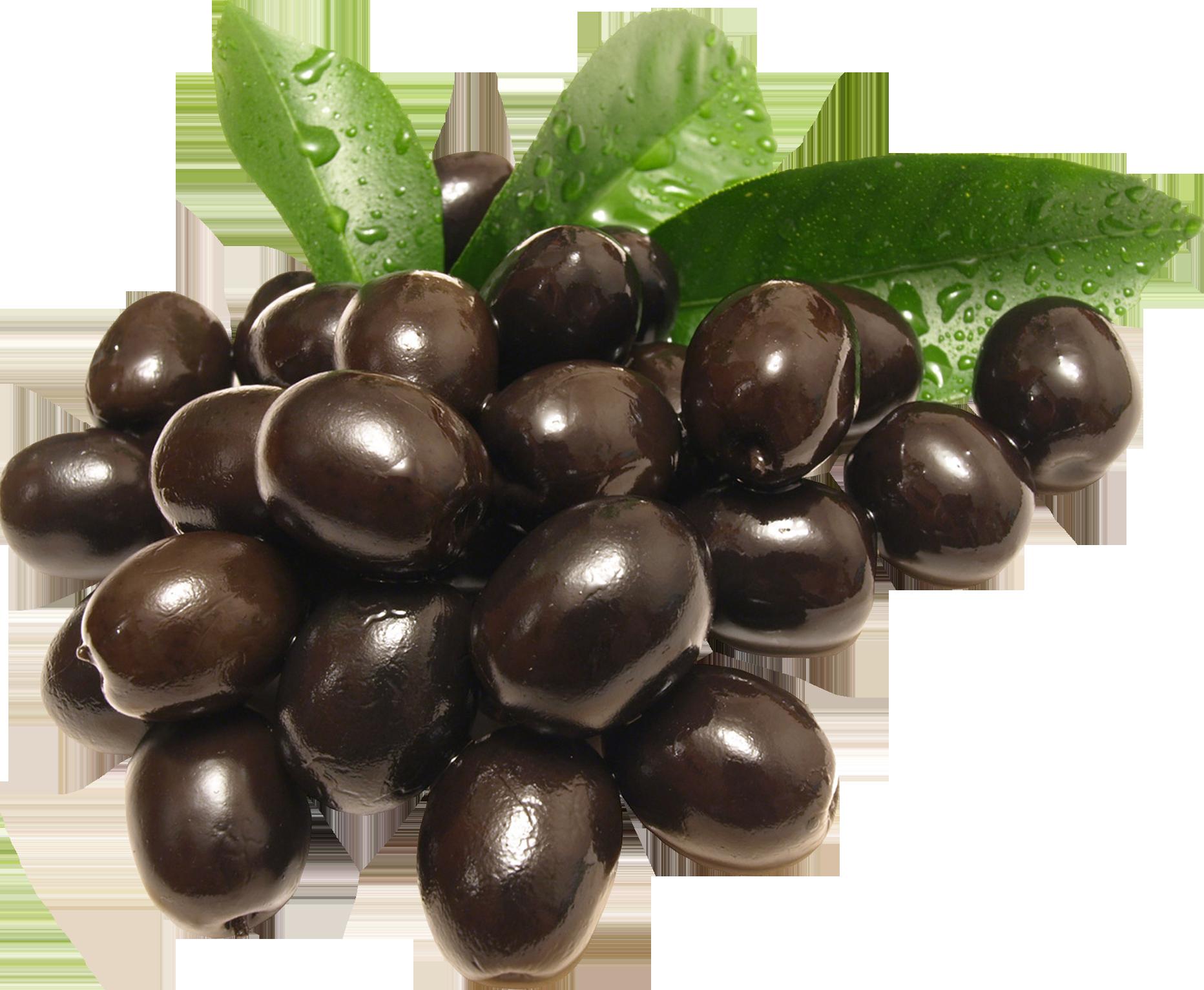 Черные оливки PNG