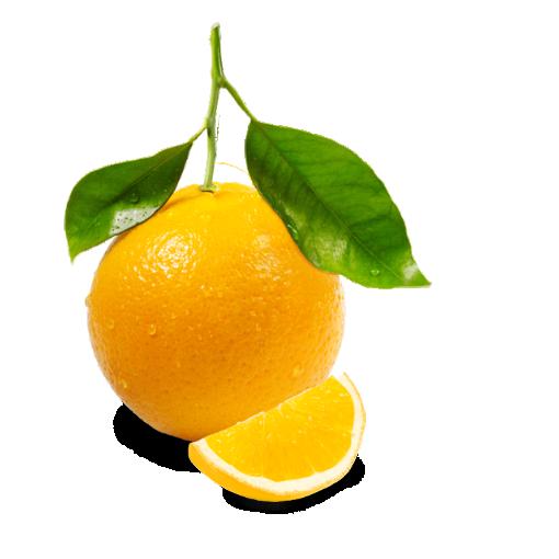 Рисунок апельсина