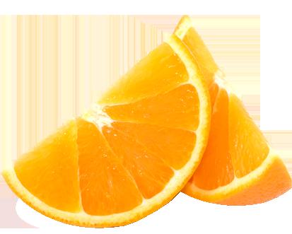 Дольки апельсина PNG фото