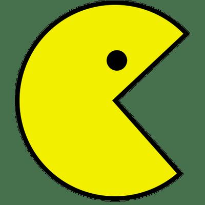 Pac-Man PNG, Pacman PNG