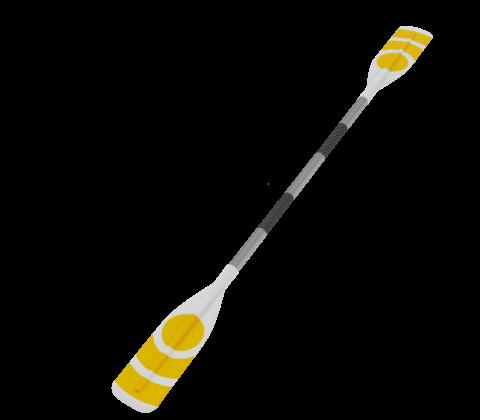 Kayak paddle PNG image