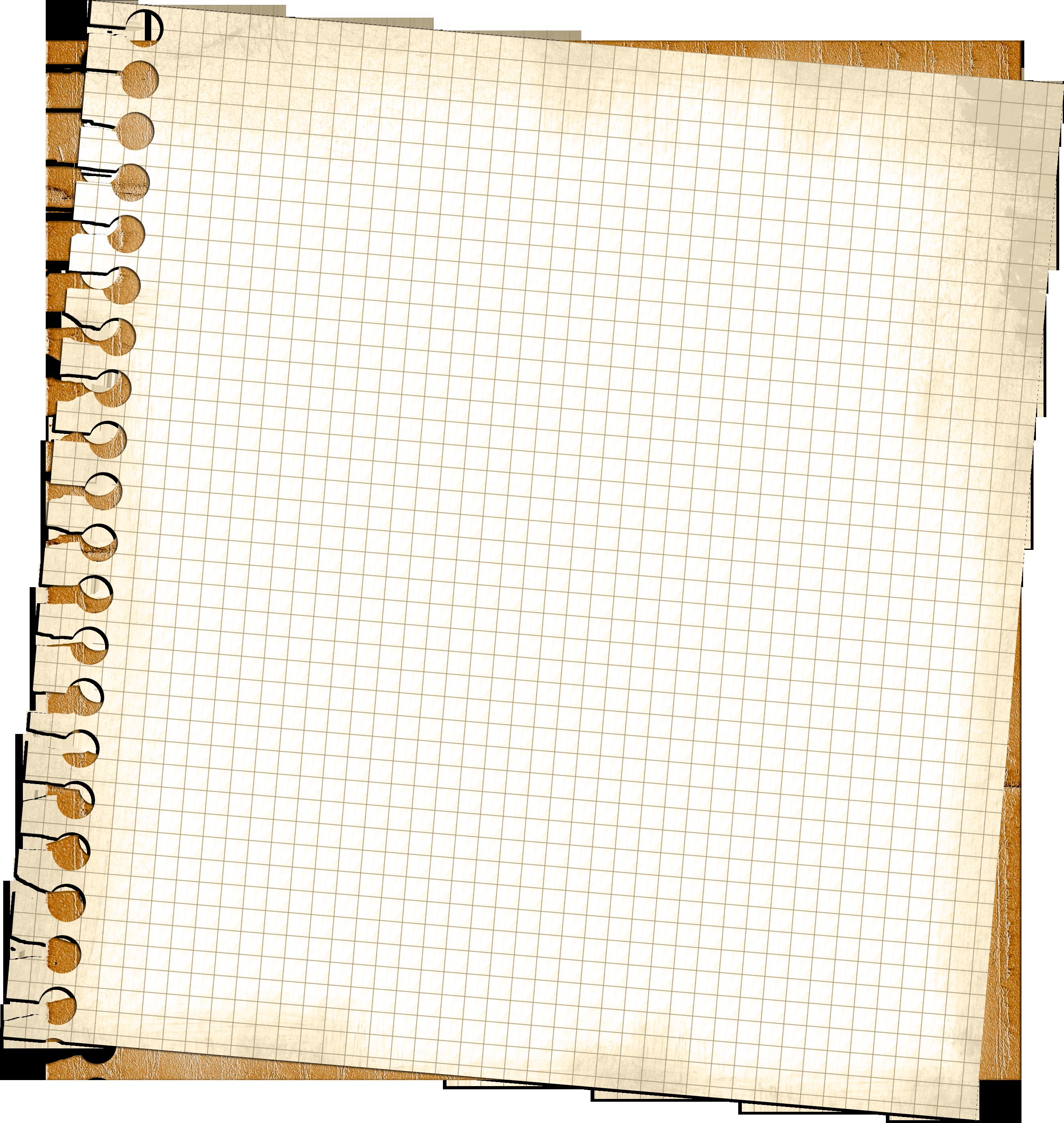 Лист бумаги в клетку фотошоп 13
