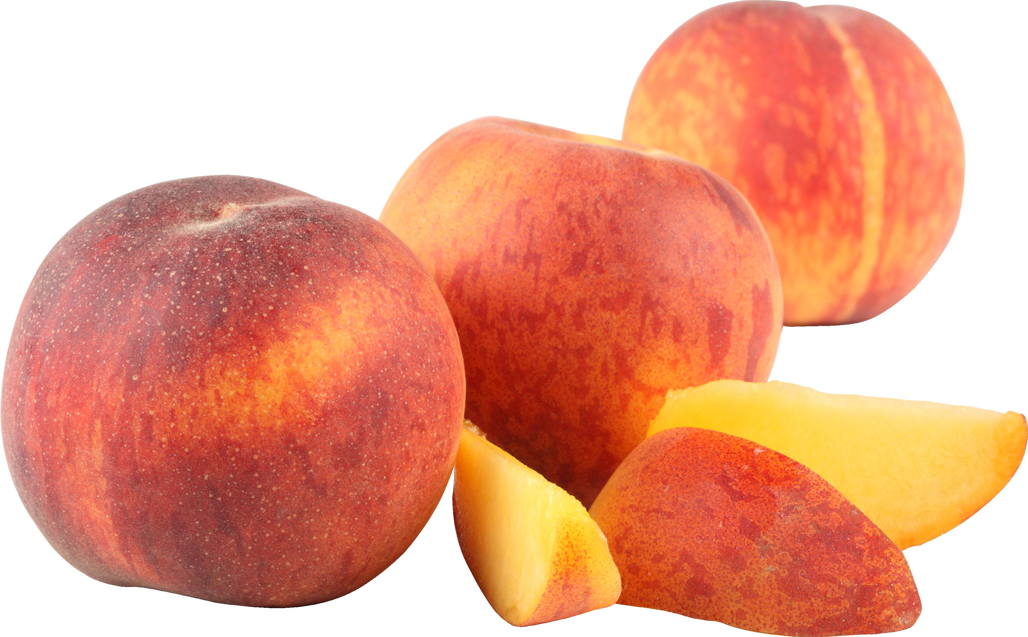 Персики PNG фото