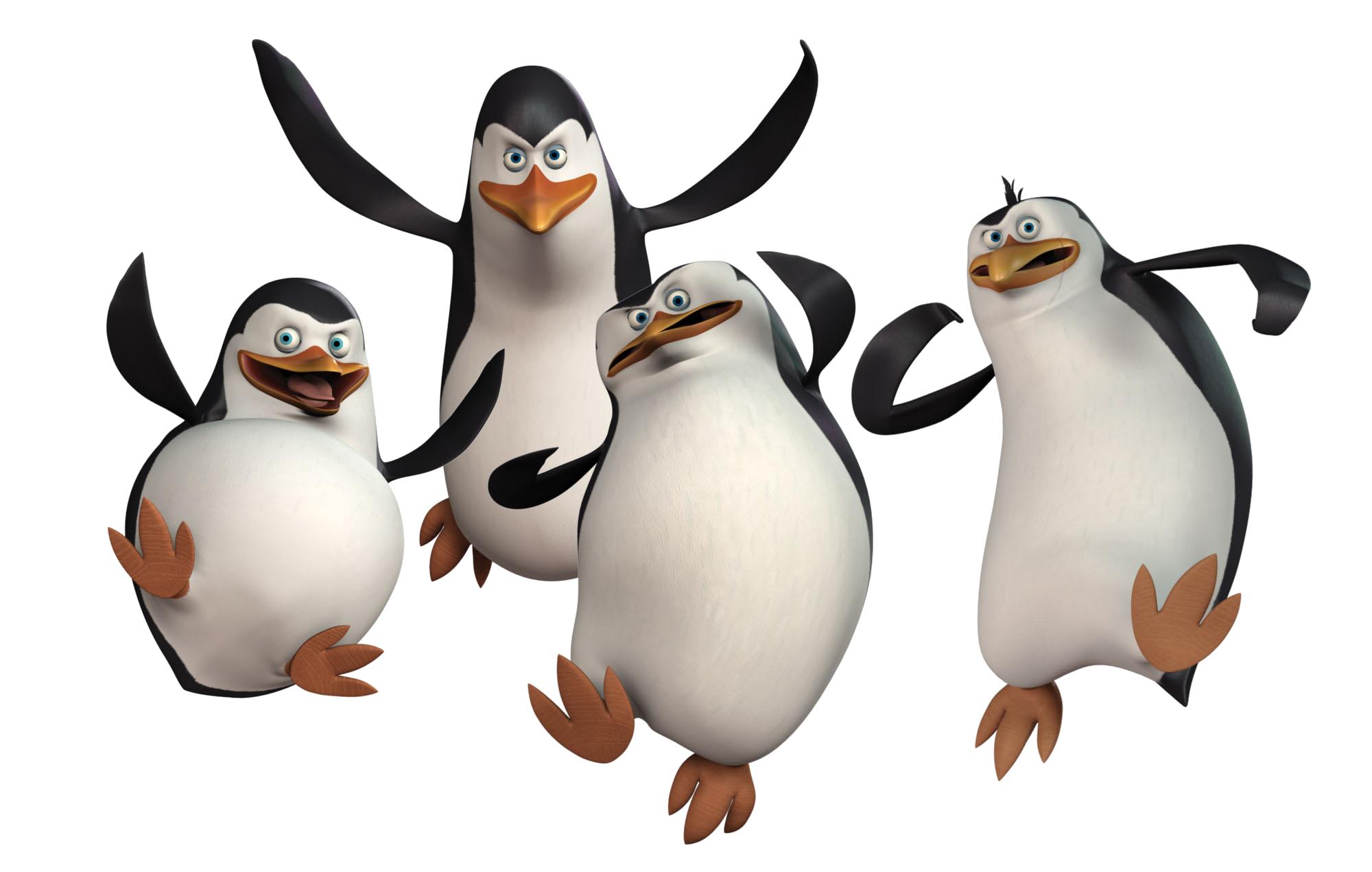 Мадагаскарсике пингвины PNG фото, изображение пингвинов PNG