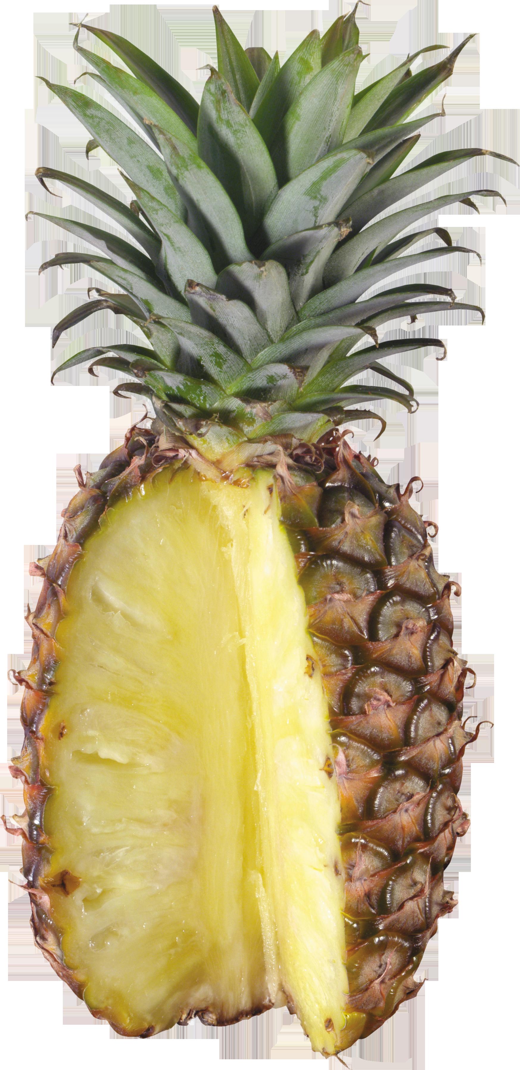 Разрезанный ананас PNG фото