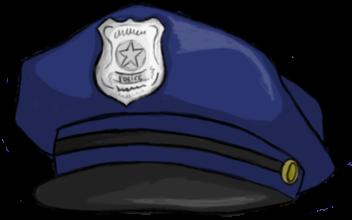Полицейская фуражка PNG