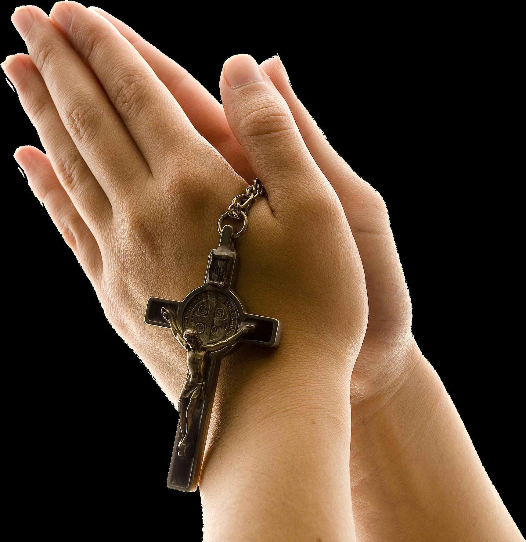 Руки молящегося PNG
