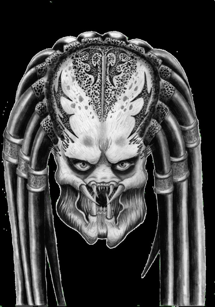 Хищник голова PNG